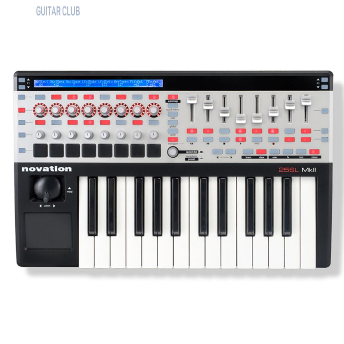 Novation 25 SL MkII Black