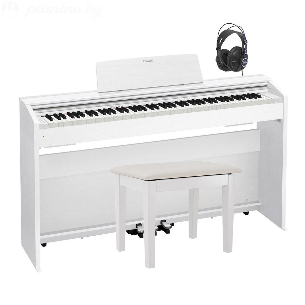 Цифровое пианино Casio Privia PX-870 White