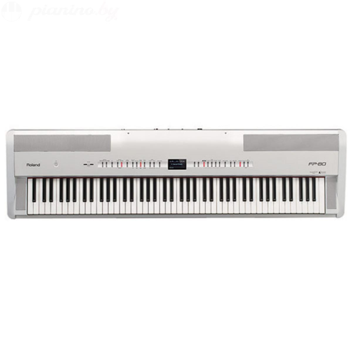 Цифровое пианино Roland FP-80 White