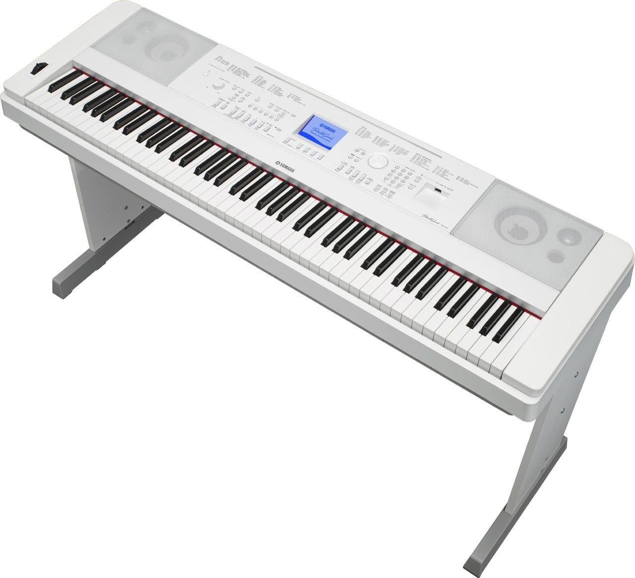 Цифровое пианино Yamaha DGX-660 White Фото 2