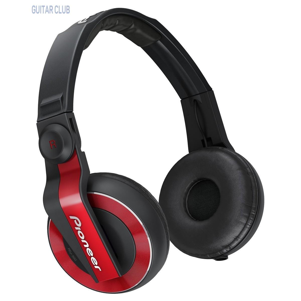 Pioneer DJ HDJ-500-R Red Фото 1