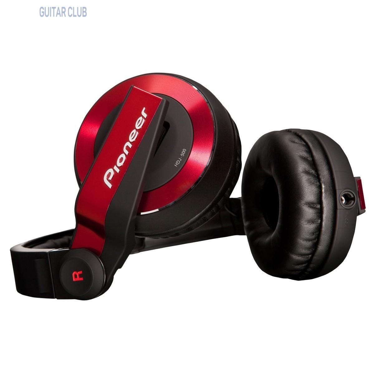 Pioneer DJ HDJ-500-R Red Фото 3
