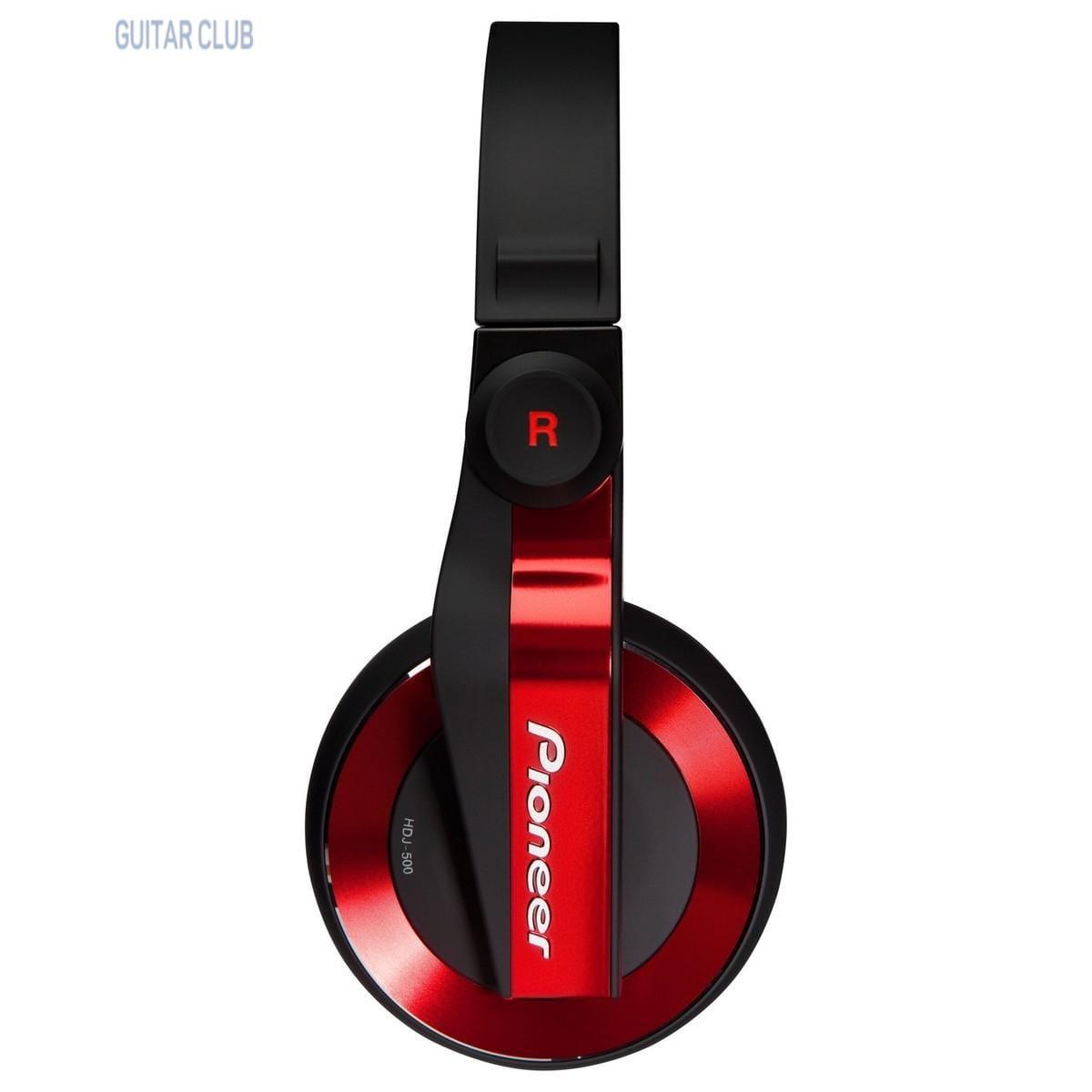 Pioneer DJ HDJ-500-R Red Фото 5