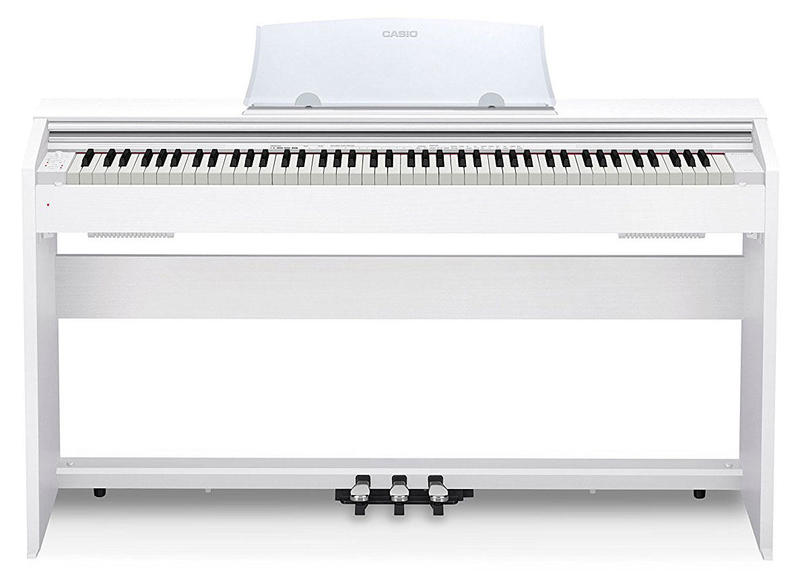 Цифровое пианино Casio Privia PX-770WE White Фото 1