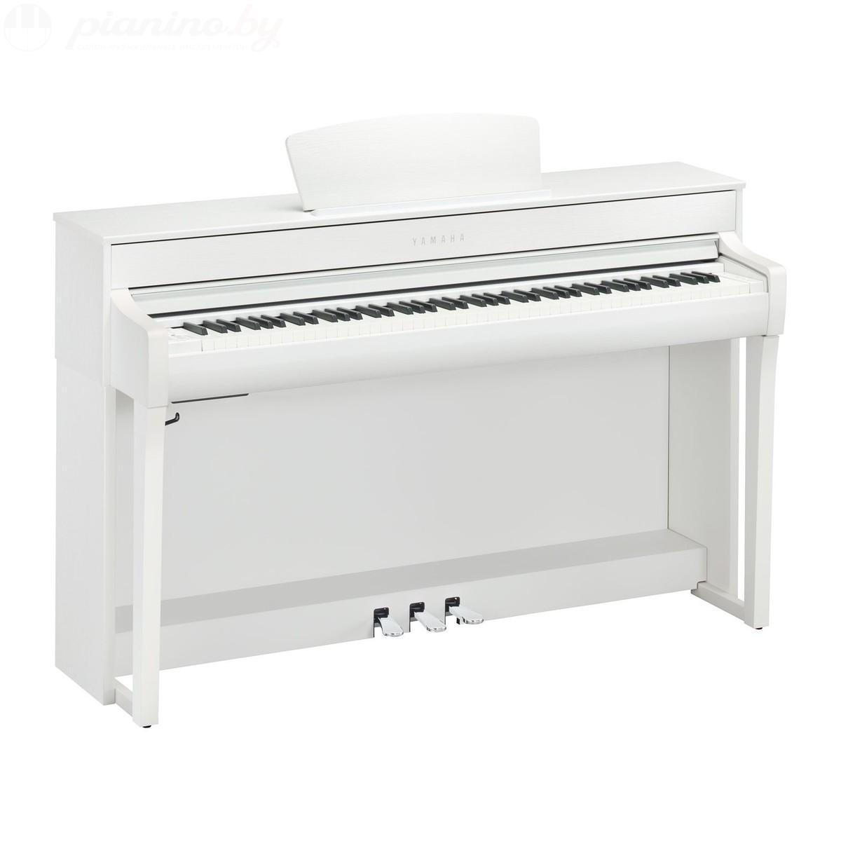 Цифровое пианино Yamaha Clavinova CLP-735 Wh Фото 1