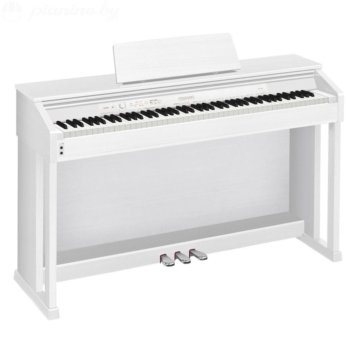 Цифровое пианино Casio AP-460 White Фото 1
