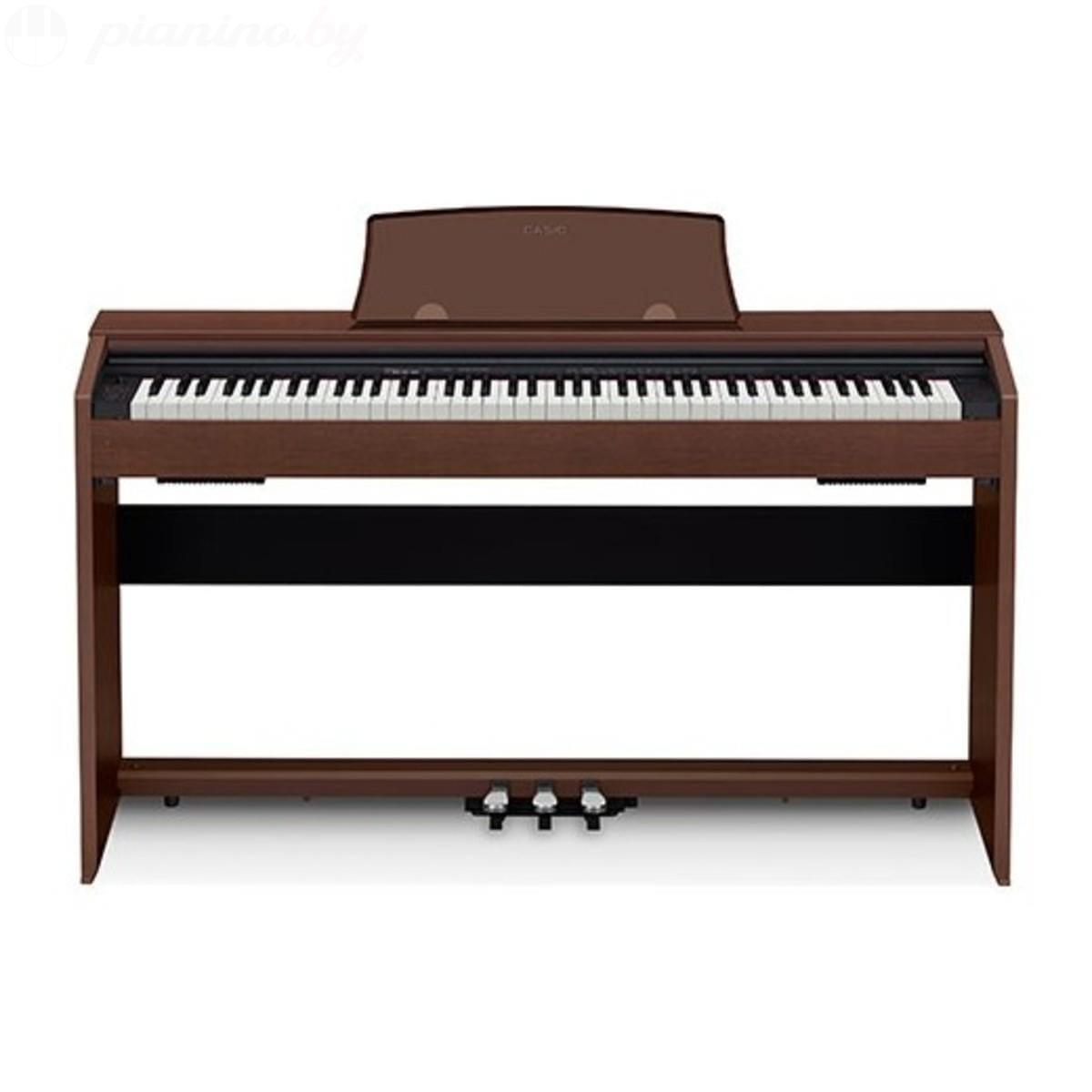 Цифровое пианино Casio Privia PX-770 Brown Фото 2