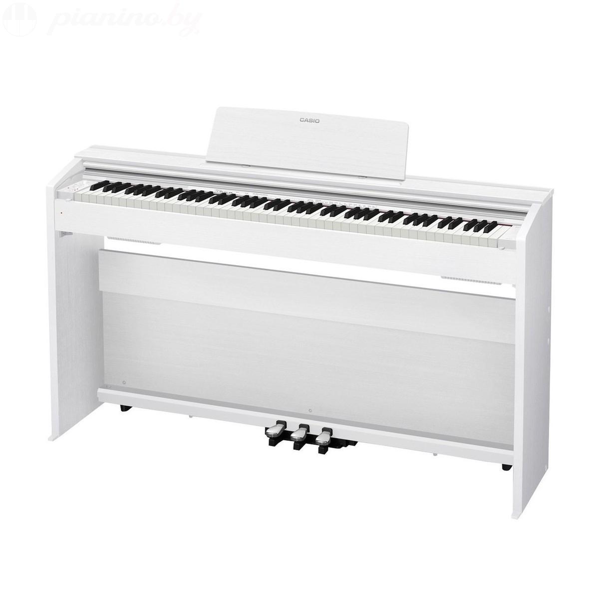 Цифровое пианино Casio Privia PX-870 White Фото 3