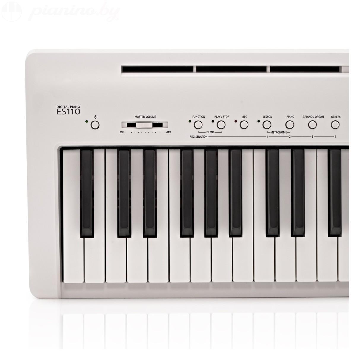 Цифровое пианино Kawai ES-110WH Фото 6