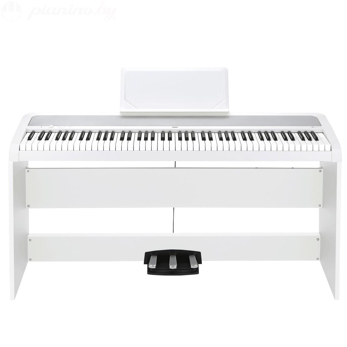 Цифровое пианино Korg B1SP-WH Фото 2