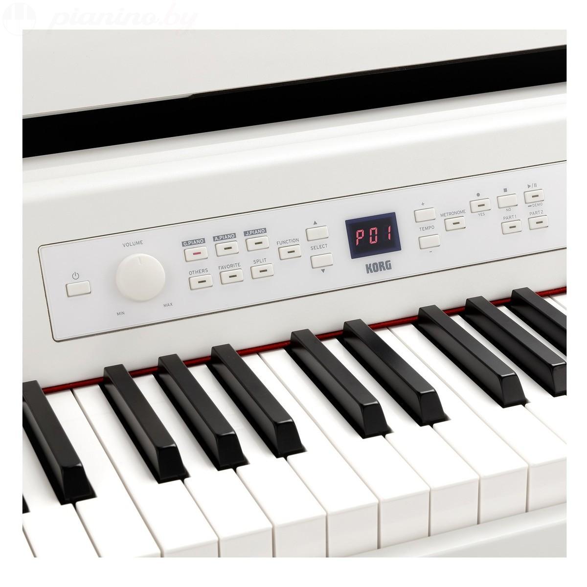 Цифровое пианино Korg G1 White Фото 3
