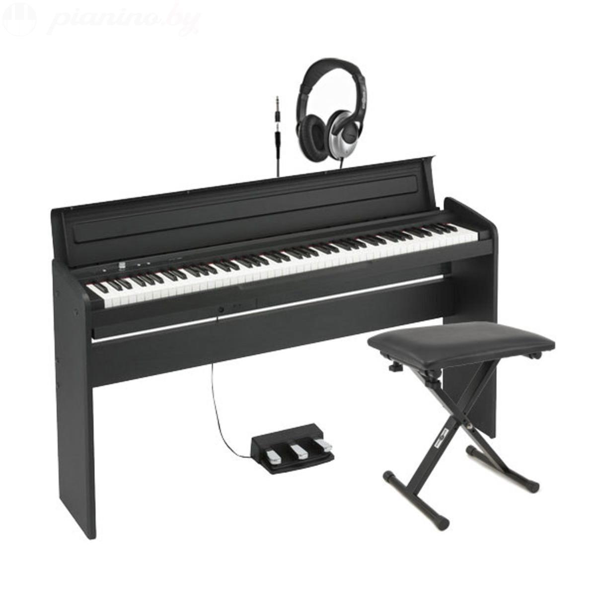 Цифровое пианино Korg LP-180 BK Фото 1