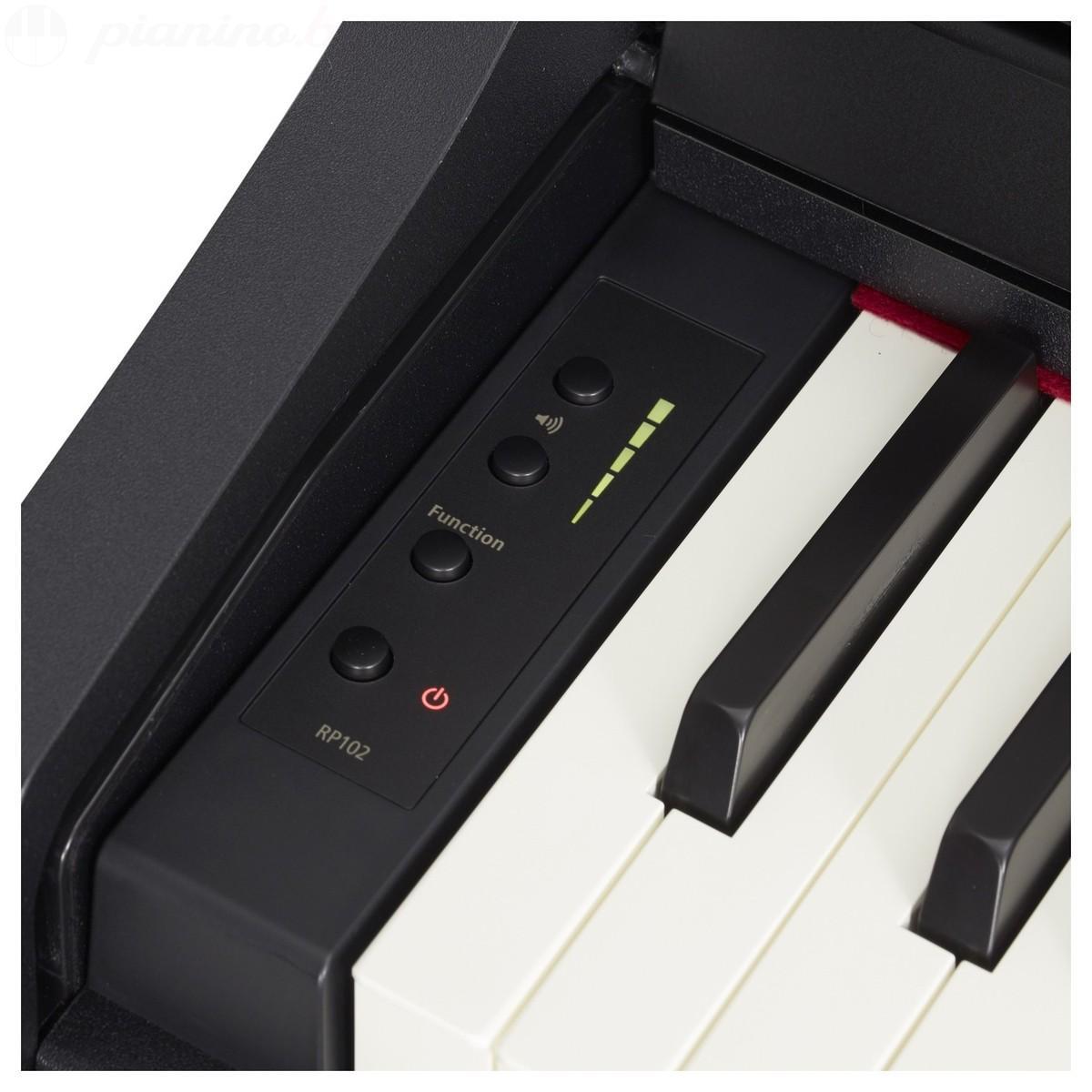 Цифровое пианино Roland RP102 Black Фото 7