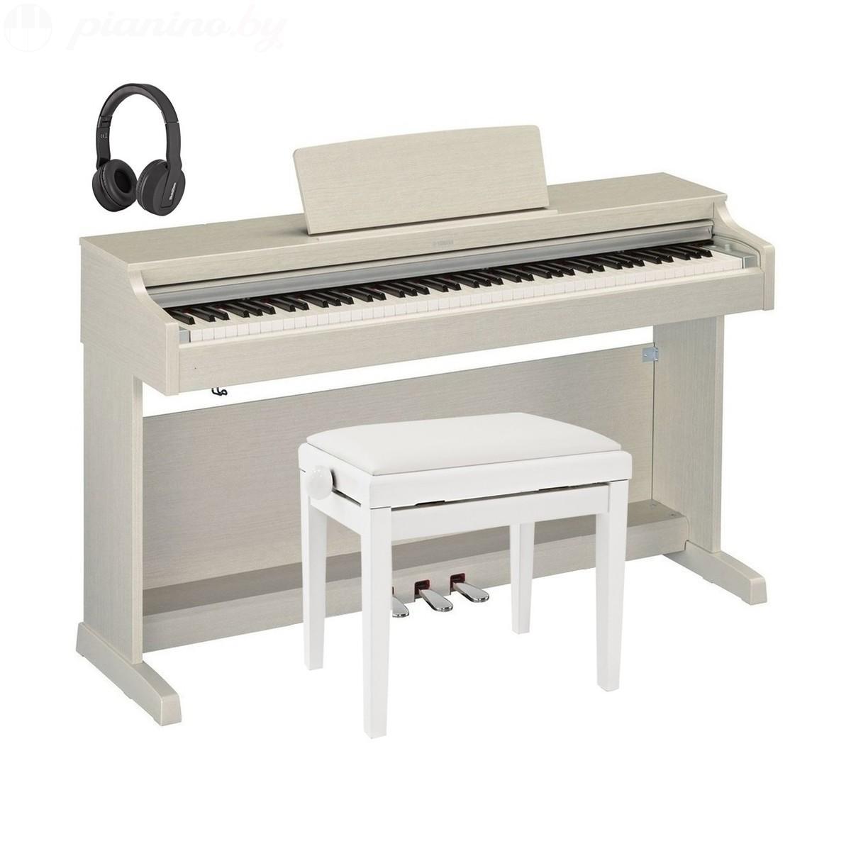 Цифровое пианино Yamaha Arius YDP-163 White Ash Фото 1