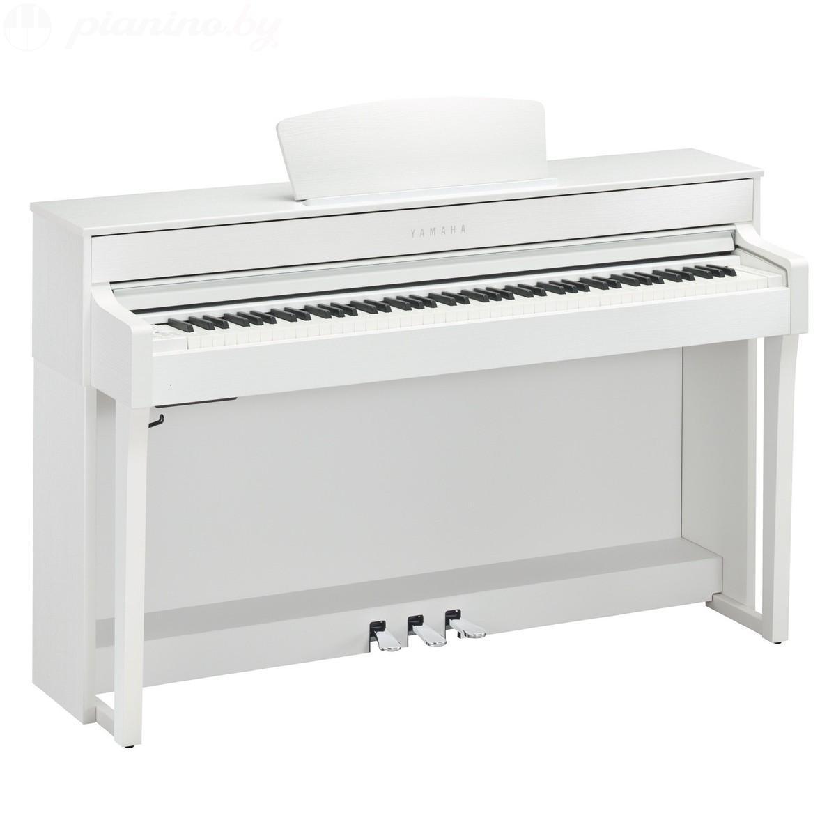 Цифровое пианино Yamaha Clavinova CLP-635 White Фото 1