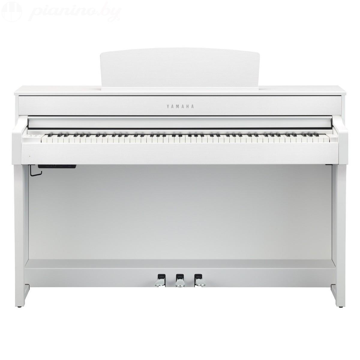 Цифровое пианино Yamaha Clavinova CLP-645 White Фото 2