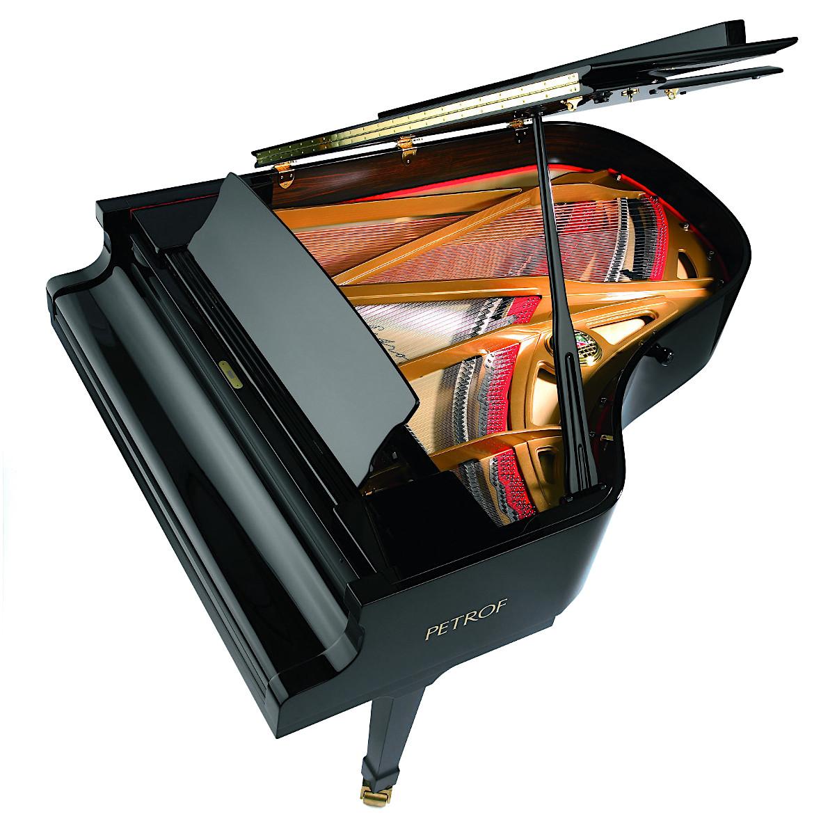 Акустический рояль PETROF P 194 Storm черный Фото 2