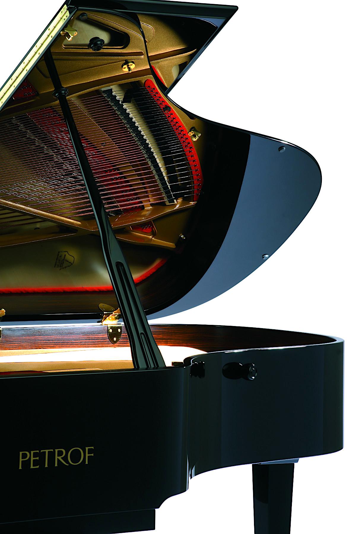 Акустический рояль PETROF P 194 Storm черный Фото 4