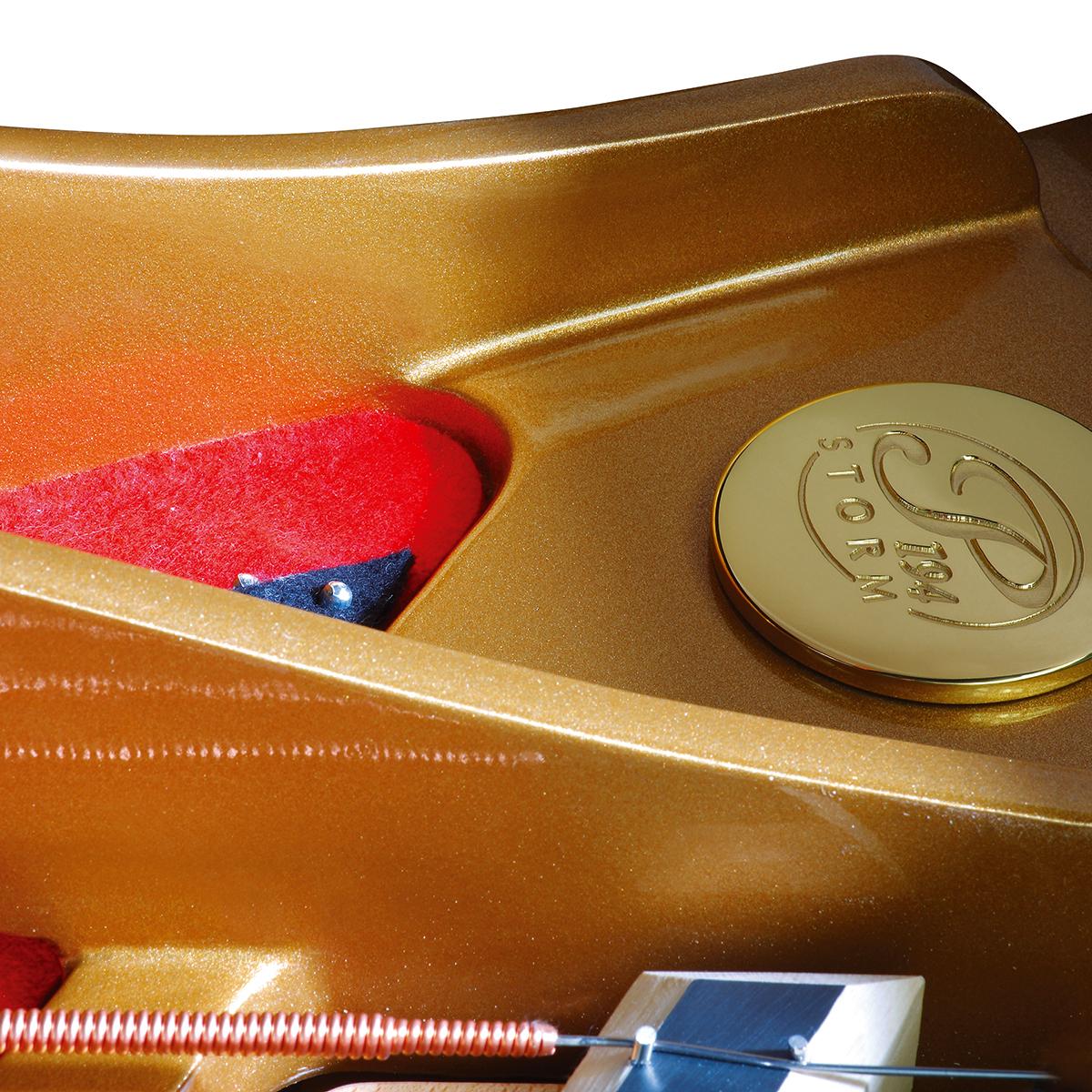 Акустический рояль PETROF P 194 Storm черный Фото 6