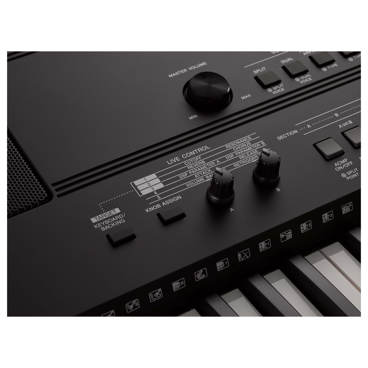 Синтезатор Yamaha PSR-E463 Фото 4