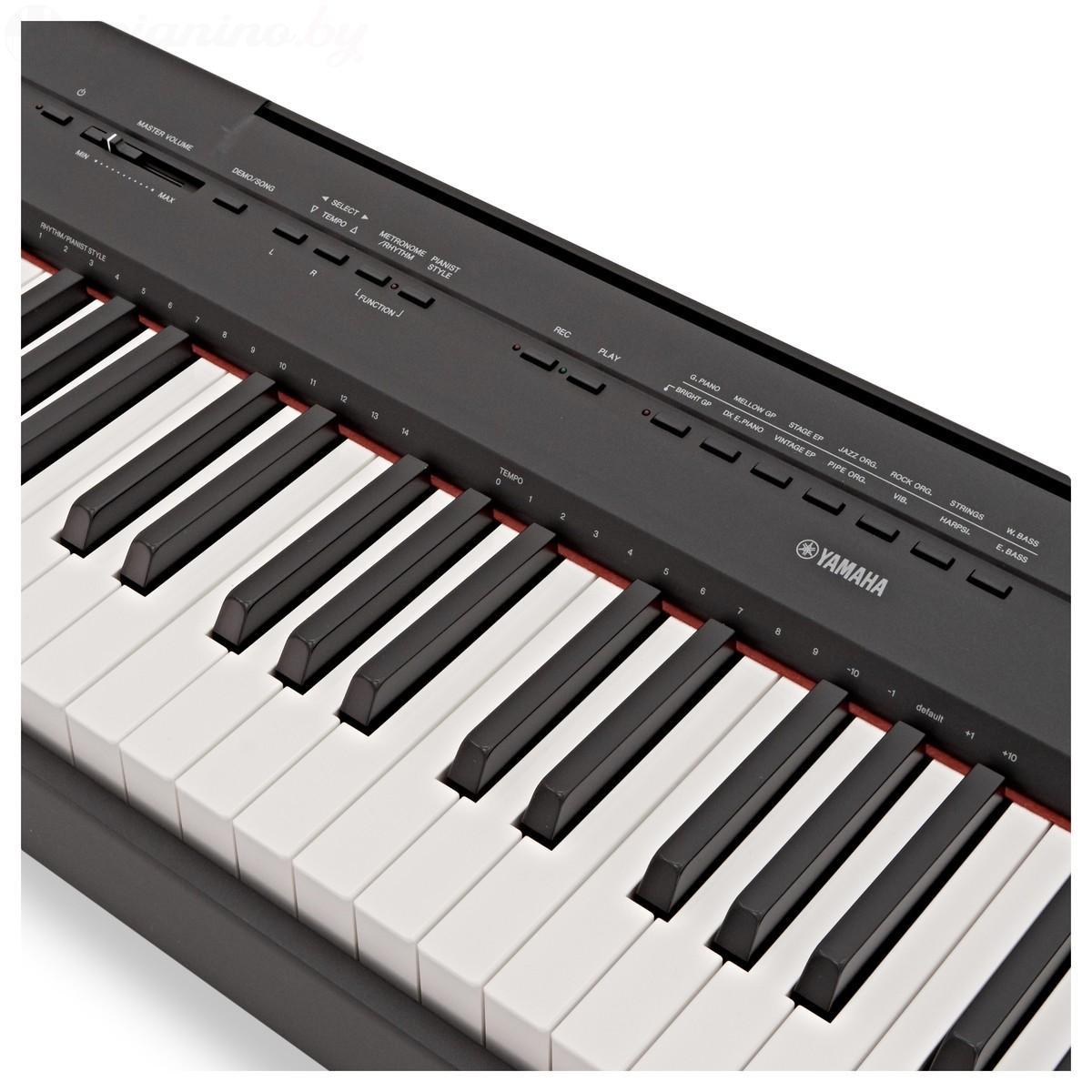 Сценическое пианино Yamaha P-115B Фото 4