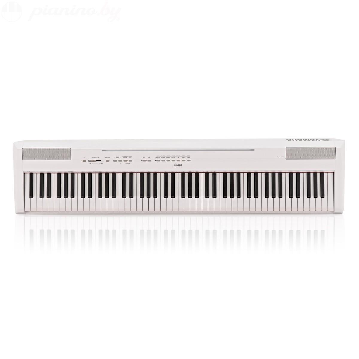 Сценическое пианино Yamaha P-115WH Фото 1