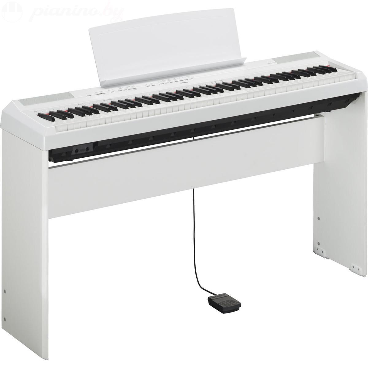 Сценическое пианино Yamaha P-115WH Фото 9