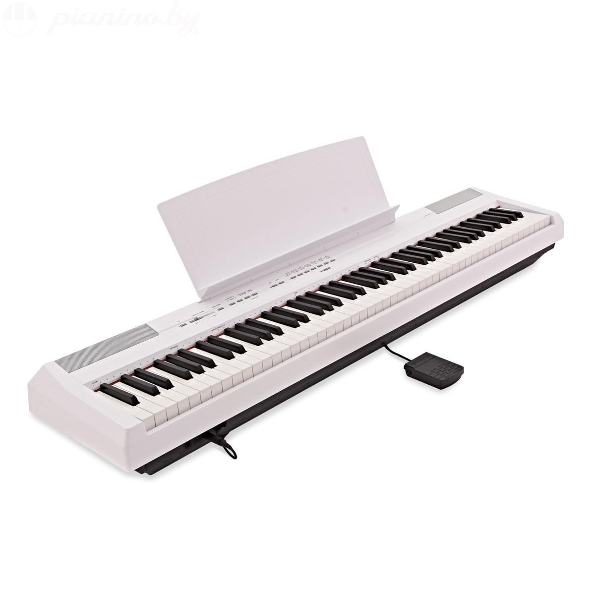 Сценическое пианино Yamaha P-115WH Фото 2