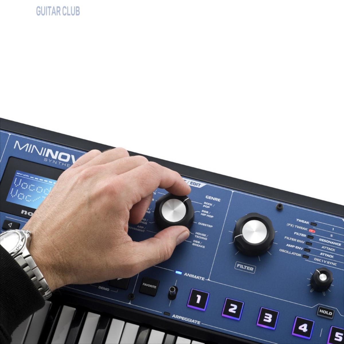 Синтезатор Novation MiniNova Фото 3