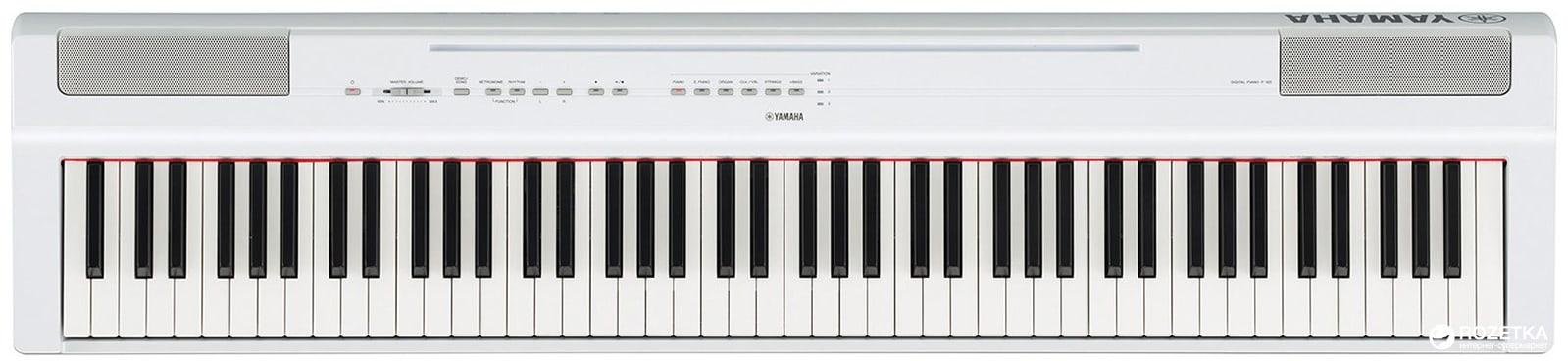 Сценическое пианино Yamaha P-125 White Фото 1