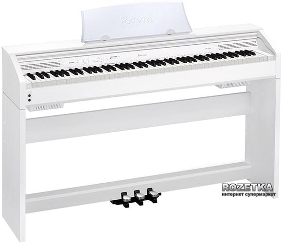 Цифровое пианино Casio PX-760 White Фото 1