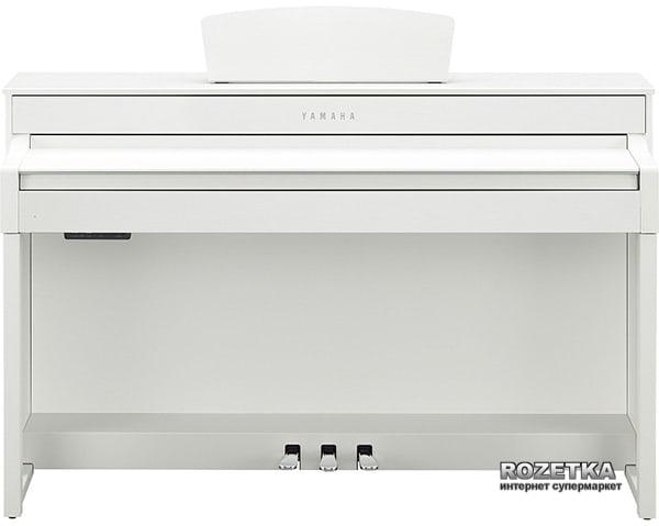 Цифровое пианино Yamaha Clavinova CLP-535WH White Фото 4