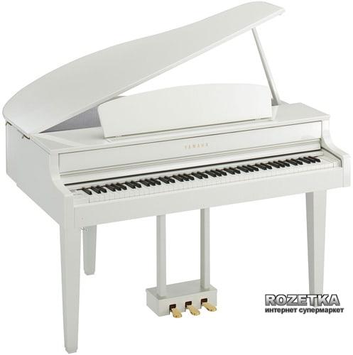 Цифровое пианино Yamaha Clavinova CLP-565GP White Фото 2
